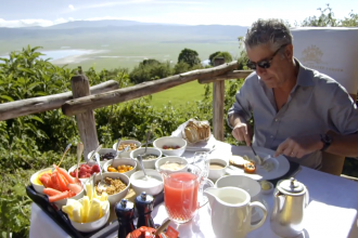 Anthony Bourdain explores the Serengeti and Zanzibar on a trip to Tanzania.