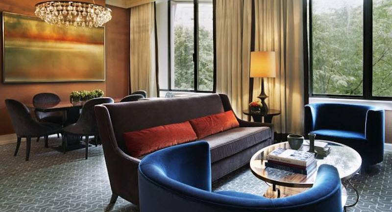 """The Rittenhouse hotel in Philadelphia was among TripAdvisor's personalized hotel recommendations that are available through a new TripAdvisor feature, """"Just for You."""""""