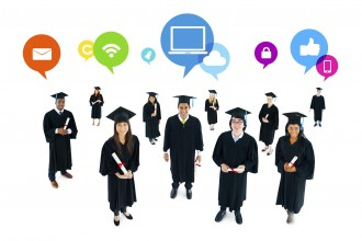 The Social Networking of Graduating Students