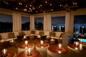 The Sky Bar at the Mondrian LA, the first Morgans' property to host a Dinner Party.