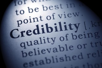 Fake Dictionary, Dictionary definition of the word credibility.
