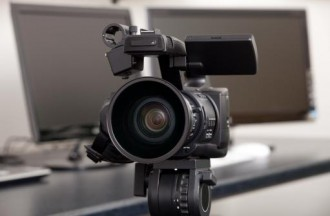 Professional HD video camera