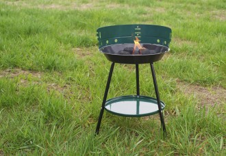 Barbeque Grill on a green grass.