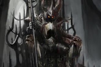 throne of the dark king