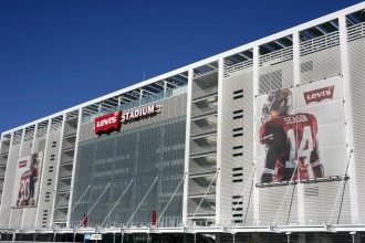 SANTA CLARA, CALIFORNIA - DECEMBER 27: Levis Stadium The New Home Of The San Francisco 49ers December 27, 2014 in Santa Clara, California