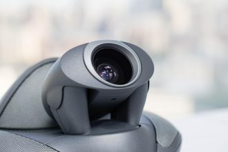 close up video conference camera for meeting