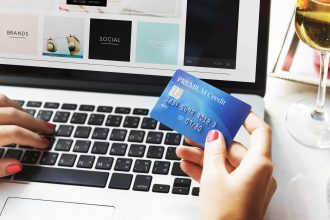 Shopping Online Payment Shop Credit Card Concept